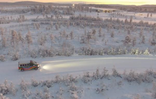 ADAC all season banden test op sneeuw