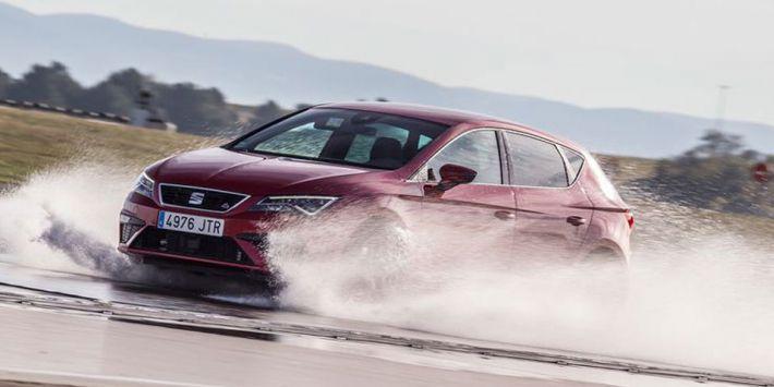 Door Auto Motor und Sport uitgevoerde test met all season banden