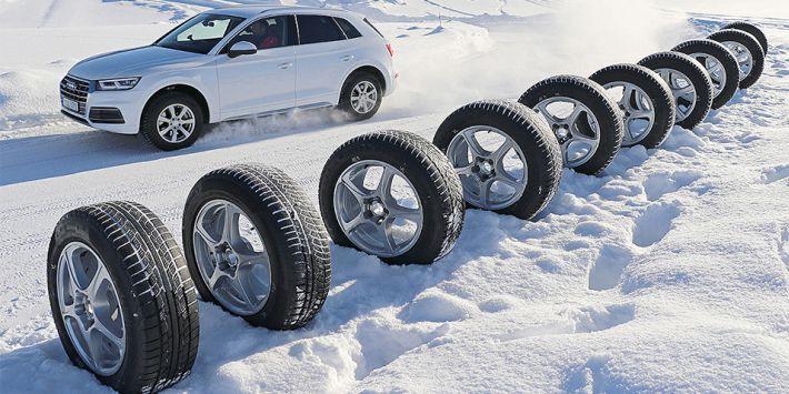 Auto Bild heeft 10 winterbanden voor SUV's en 4x4's getest