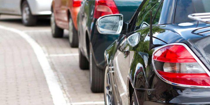 Flat spotting van autobanden