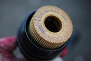 motoroliefilter vervangen na olie verversen