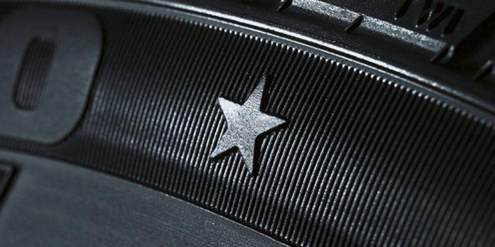Bandenmarkering ontwikkeld voor BMW