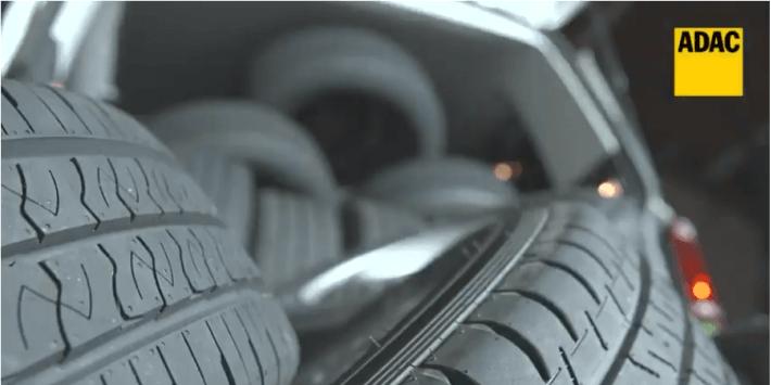 Bekijk de door ADAC uitgevoerde test van banden voor bedrijfswagens