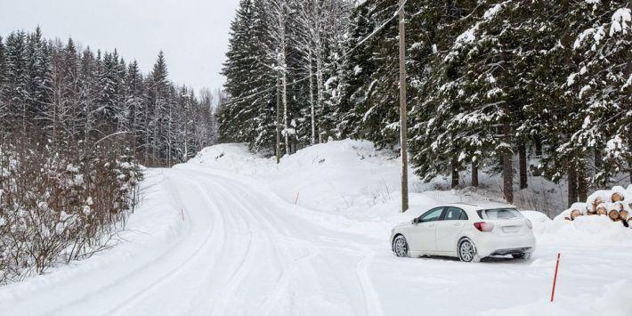 Rijhulpsystemen bij het rijden op sneeuw