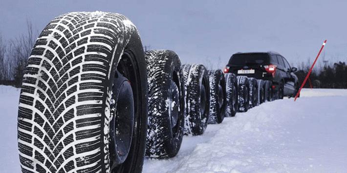 SUV winterbandentest: ADAC en TCS voeren een vergelijkende bandentest op sneeuw uit