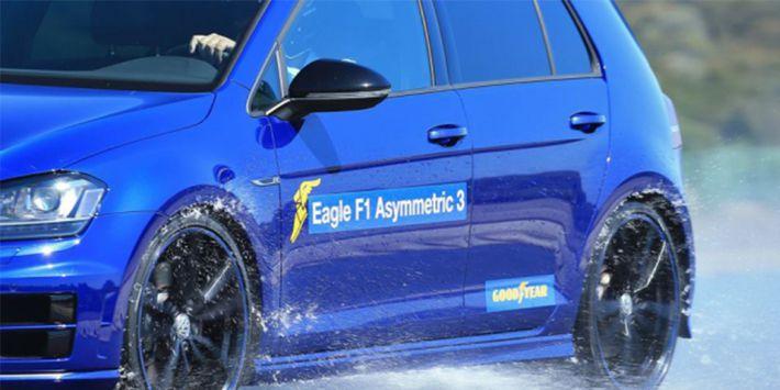 Goodyear Eagle F1 Asymmetric 3 test