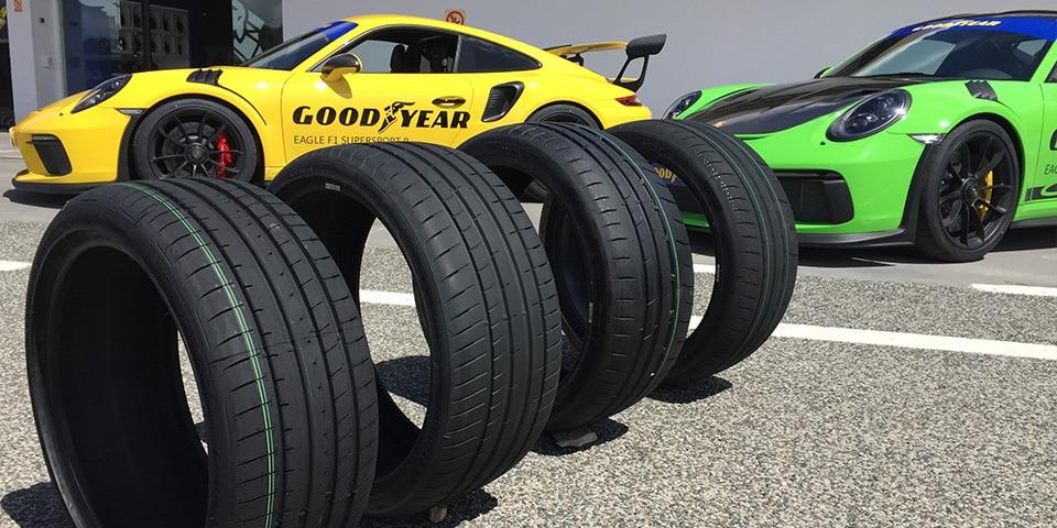 Profiel Goodyear Eagle F1 Supersport banden